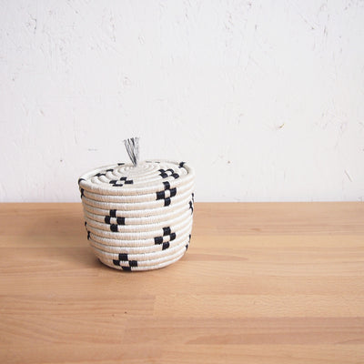 Maraba Mini Lidded Basket