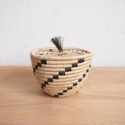 Tanga Mini Lidded Basket