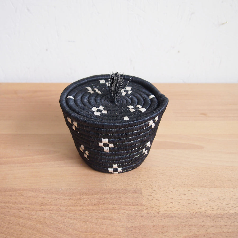 Munazi Mini Lidded Basket