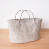 XL Sisal Tote: Cliffs