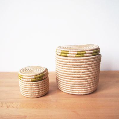 Canister Basket: Green