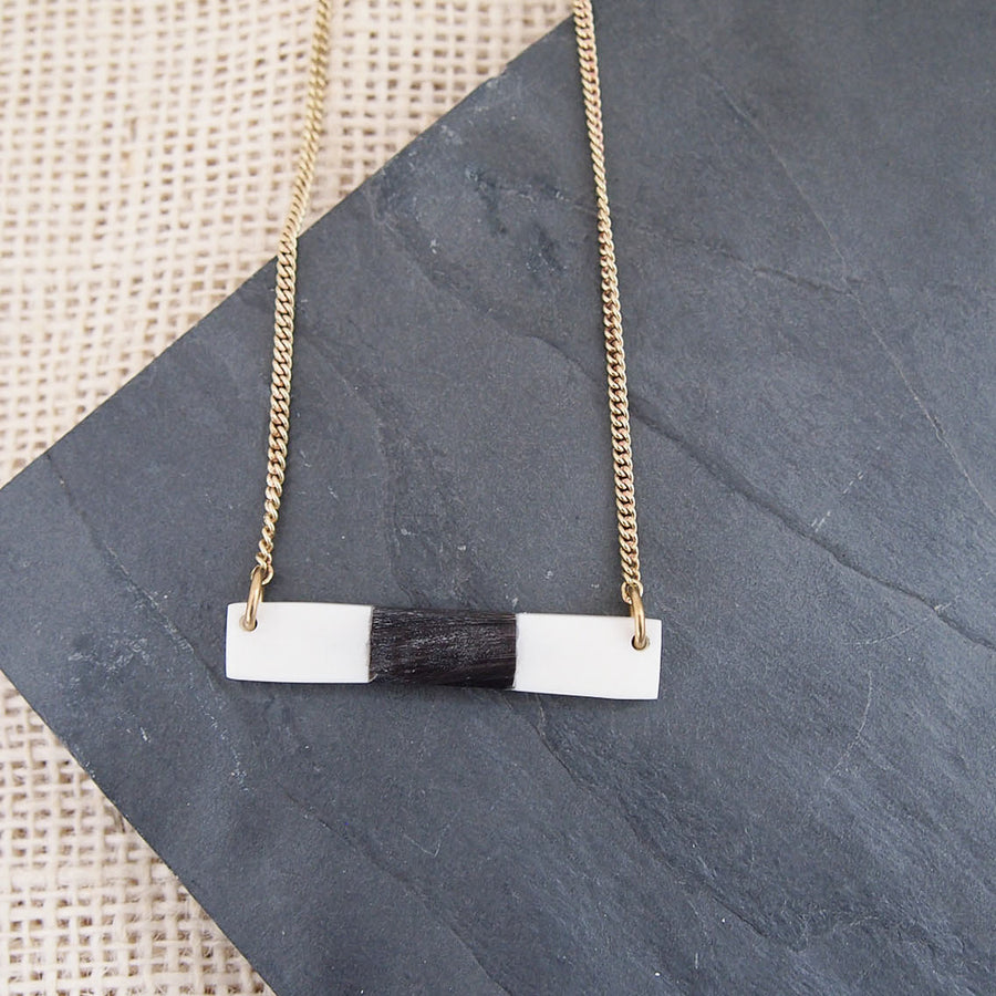 Fused Bar Necklace