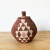 Lidded Specialty Basket #201