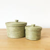 Birara Lidded Baskets (Set of 2)
