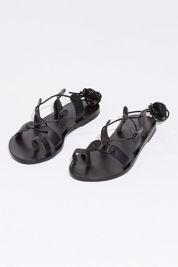 ALYCONE SANDAL IN BLACK