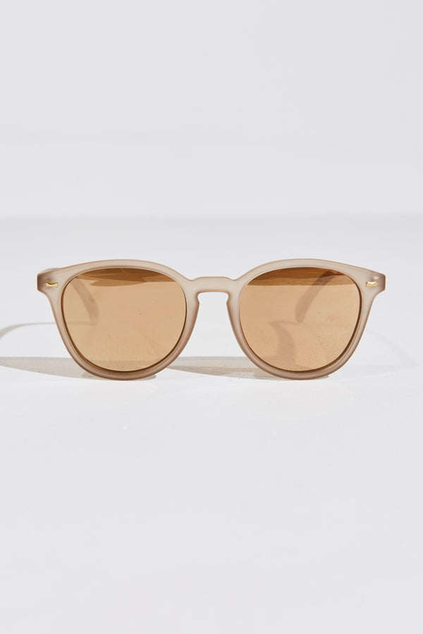 BANDWAGON SUNGLASSES IN STONE