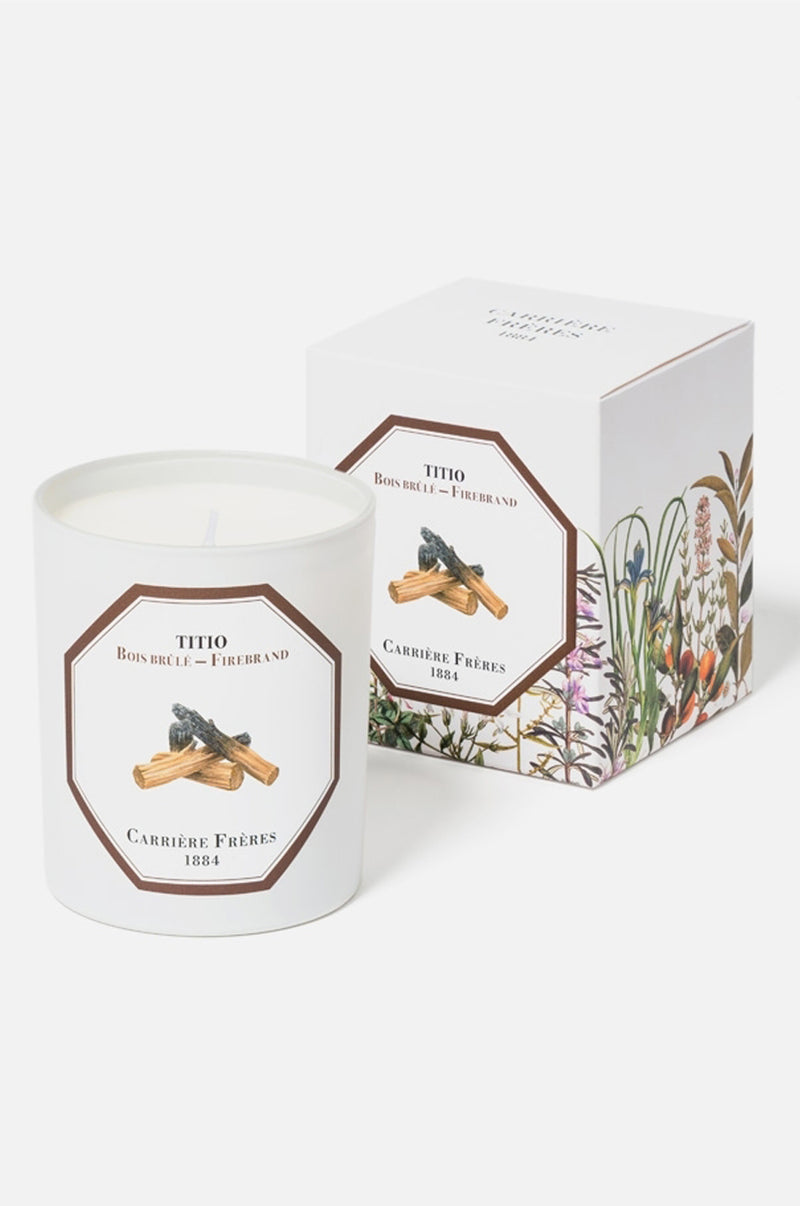 Carriere Freres Firebrand candle.