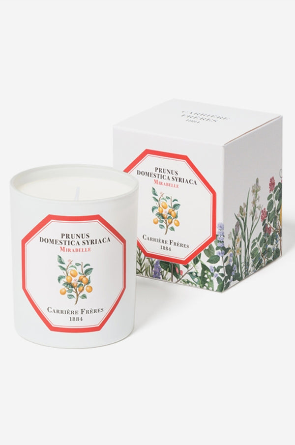 Carriere Freres Mirabelle candle.