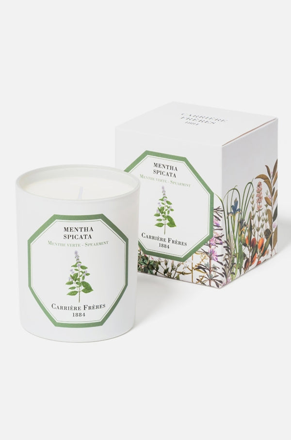 Carriere Freres SPearmint candle.