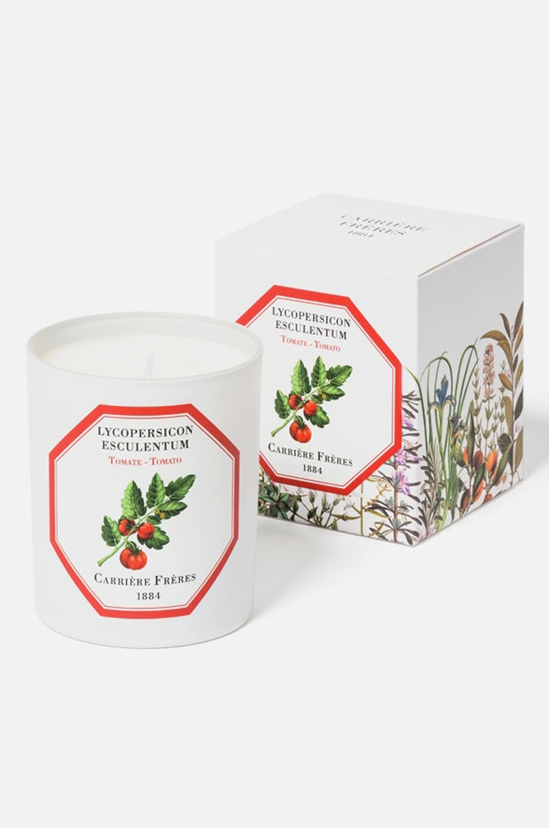 Carriere Freres Tomato candle.