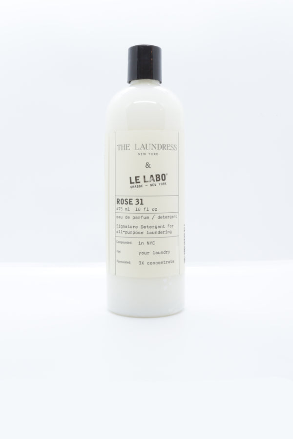 The Laundress x Le Labo Detergent in rose 31.