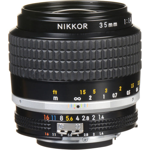 Nikon Ais Nikkor 35mm f/1.4 Wide Angle Manual Lens Ai S MF F1.4