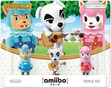 Load image into Gallery viewer, Nintendo Switch Animal Crossing Cyrus K.K. Slider Reese amiibo Set