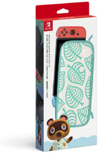 Load image into Gallery viewer, Nintendo Switch Animal Crossing New Horizons Carrying Case With Screen Protection Sheet
