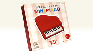 Kawai Mini Piano P-25 Red Children Kids Keyboard Educational Toy 1183