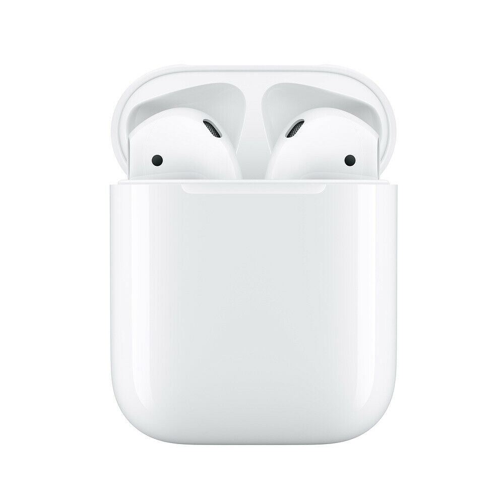 Apple 2nd Generation Airpods Wireless Bluetooth Headset with Charging Case H1 Headphones MV7N2AMA
