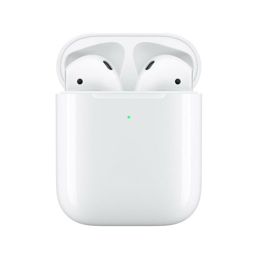Apple 2nd Generation Airpods Bluetooth Headset with Wireless Charging Case H1 Headphones MRXJ2AMA