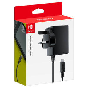 Nintendo Switch Power Adapter Type G UK Plug Ireland Singapore