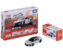 Load image into Gallery viewer, Takara Tomy Tomica 4D 04 Honda NSX White Sound Vibrate Car