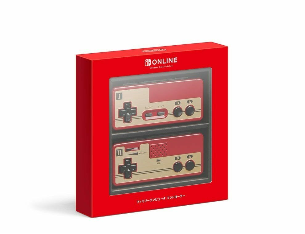 Nintendo Famicom Switch Limited Classic Wireless Controller Japan Version