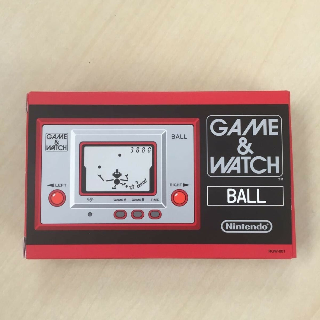 Nintendo Game & Watch Ball LCD LSI Handheld Portable Retro