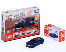 Load image into Gallery viewer, Takara Tomy Tomica 4D 03 Honda NSX Blue Sound Vibrate Car