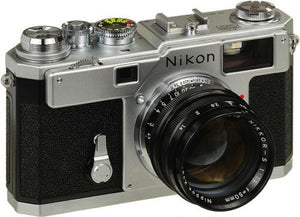 Nikon S3 Silver Year 2000 Limited Edition Rangefinder Film Camera with Nikkor-S 50mm F1.4