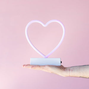 Neon Light Up Heart - NON/PER