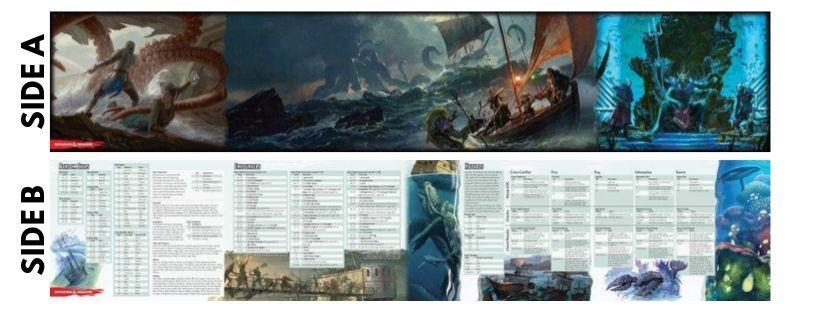 Of Ships and the Sea - Dungeon Master Screen