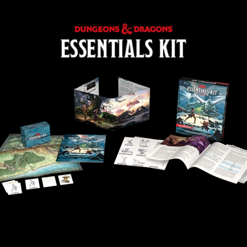 D&D Essentials Kit Contents