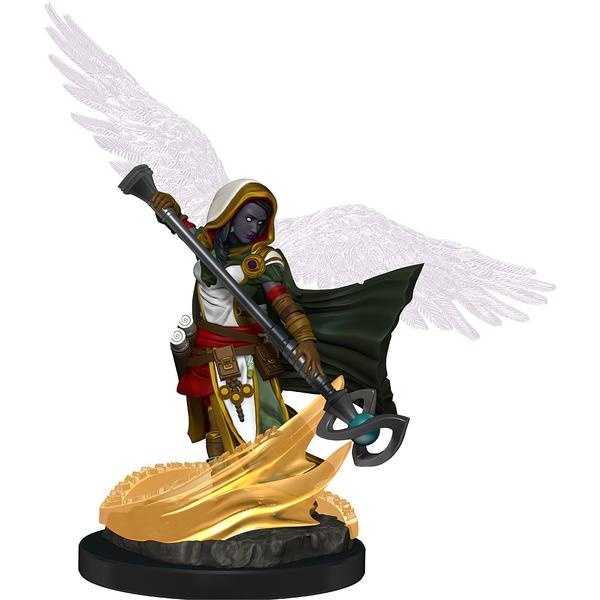 D&D Miniatures - Female Aasimar Wizard prepainted