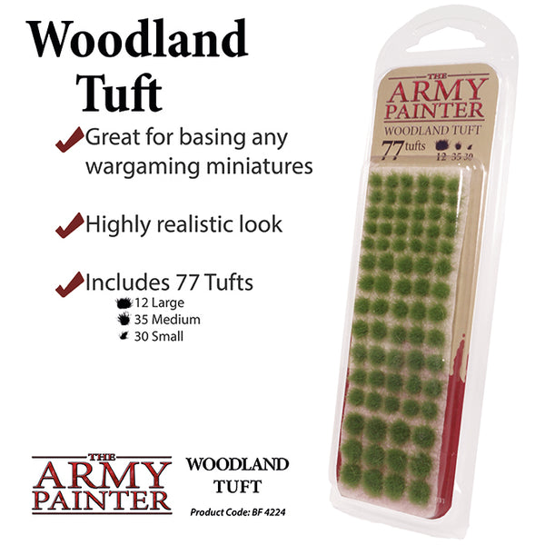 Army Painter - Woodland Tufts - Basing