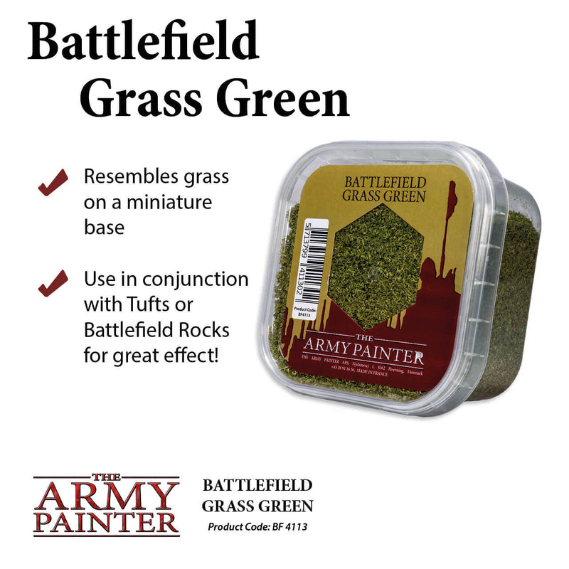 Army Painter - Grass Green Flock Basing