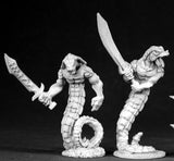 Yuan-Ti Warriors unpainted