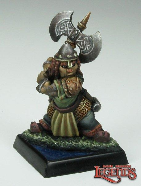Reaper Miniatures - Female Dwarf Fighter