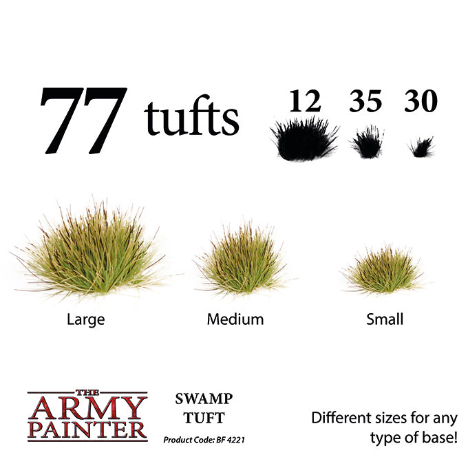 Army Painter - Swamp Tufts - Battlefield Basing