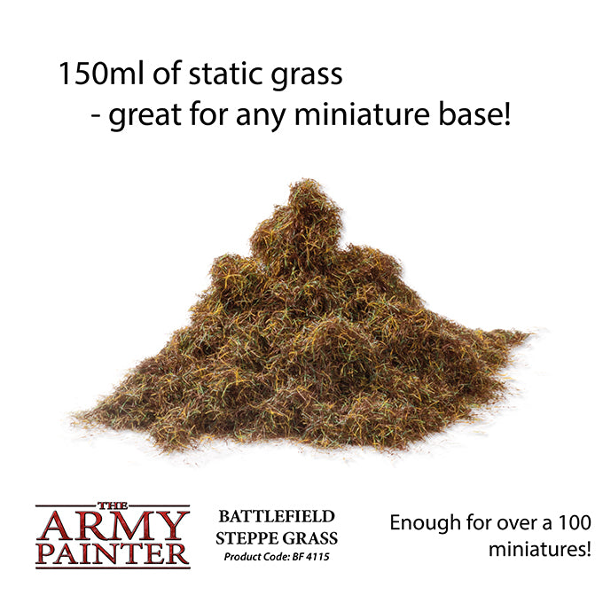 Army Painter - Steppe Grass - Basing Materials