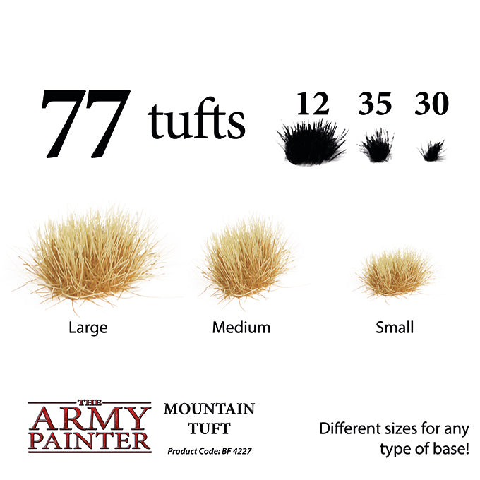 Army Painter - Mountain Tuft - Basing Materials