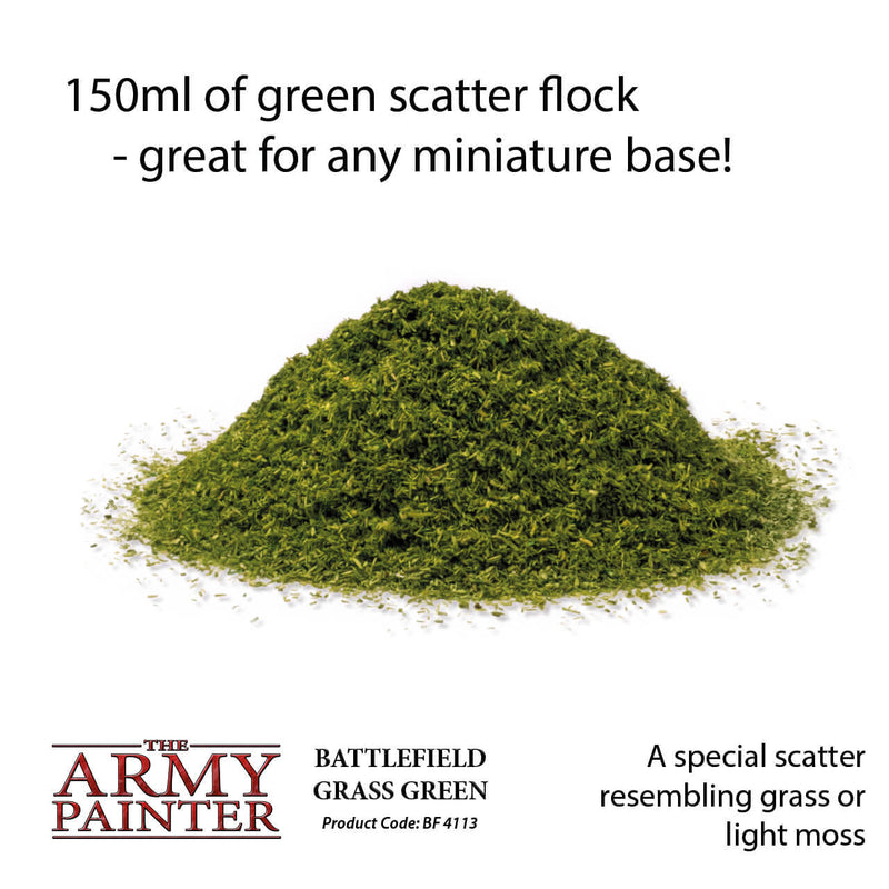 Army Painter - Grass Green - Basing Materials