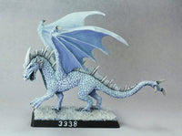 Reaper Miniatures - Young White Dragon - painted