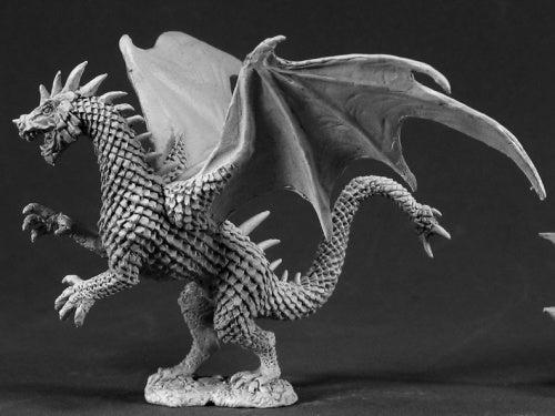 Reaper Minis - Young Green Dragon