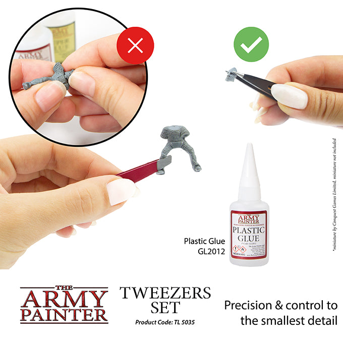 Tweezer Set - Miniature Assembly