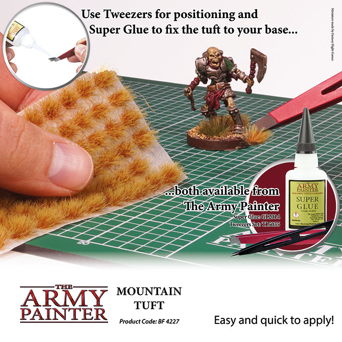 Army Painter - Mountain Grass - Basing Tufts