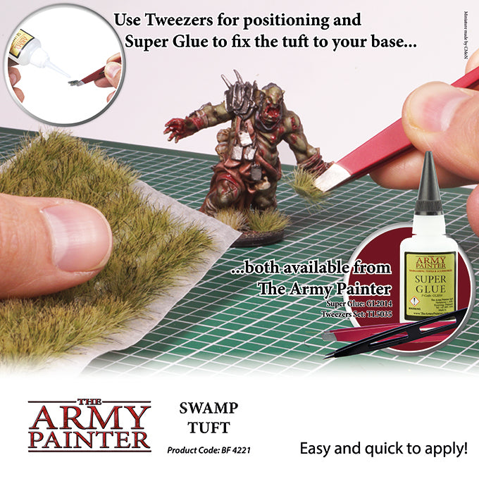 Army Painter - Swamp Grass - Basing Tufts