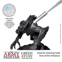 army painter - green stuff - mold lines