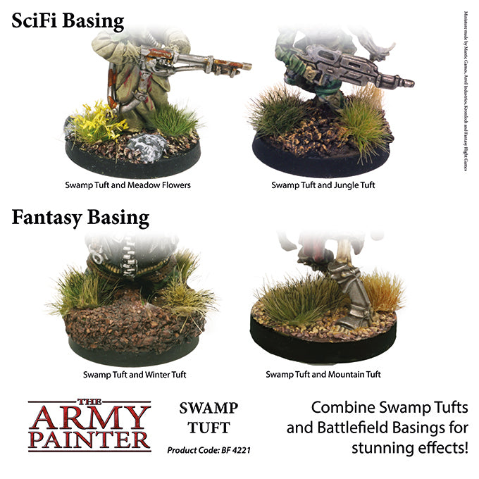 Swamp Grass - Basing Tufts