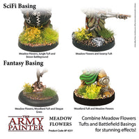 Meadow Flowers - Basing Materials - Grass Tufts