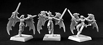 Reaper Miniatures - Darkspawn Incubi - unpainted