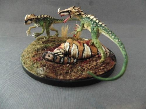 Reaper Miniatures - Raptor - painted