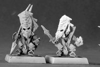 Reaper Miniatures - Gnome Bodyguards (9 Pack) - unpainted